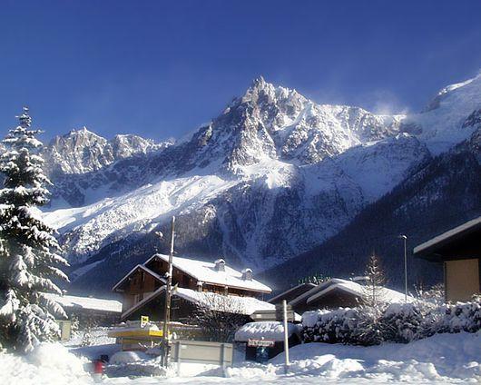Шамони, горнолыжный курорт Франции