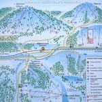 Карта Славско