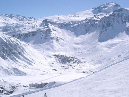 Тинь - горнолыжный курорт Франции