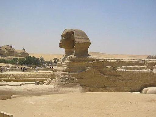 Сфинкс - визитная карточка Египта