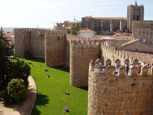 Крепостная стена, Авила
