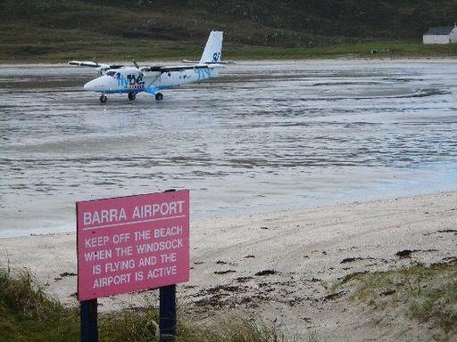 Аэропорт Барра, Внешние Гебриды,Шотландия