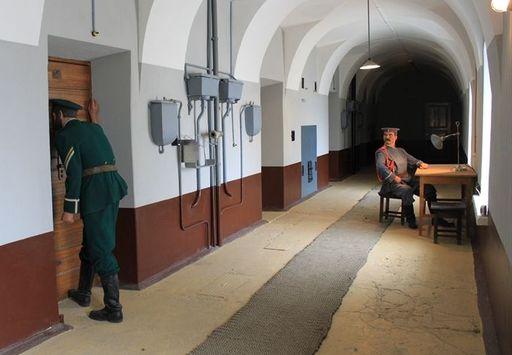Казематы Петропавловской крепости