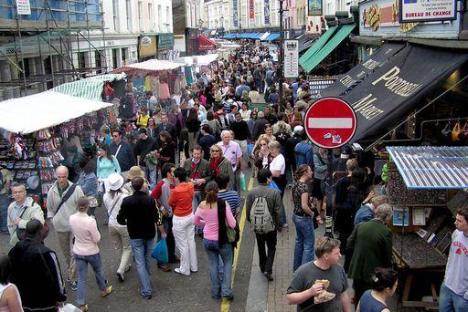 Лондонский рынок «Portobello