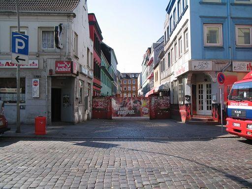 Улица Репербан, Гамбург