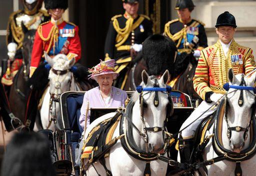 День рождения Британской королевы