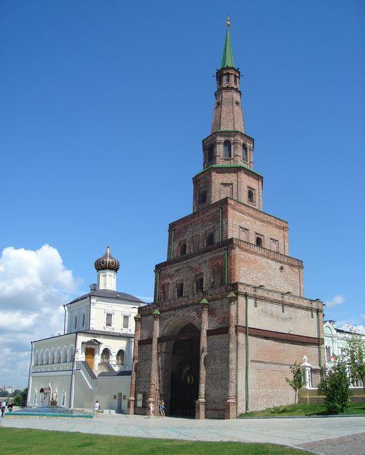 Знаменитая башня Сююмбике