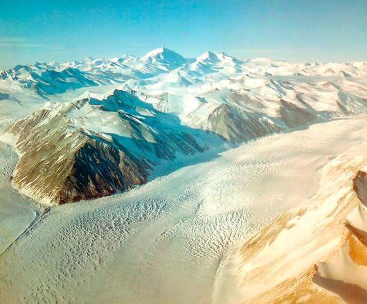 Антарктида. ледяной поток Вилланса