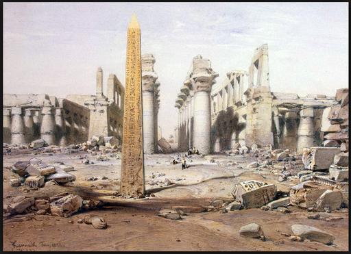 Развалины храма Карнак