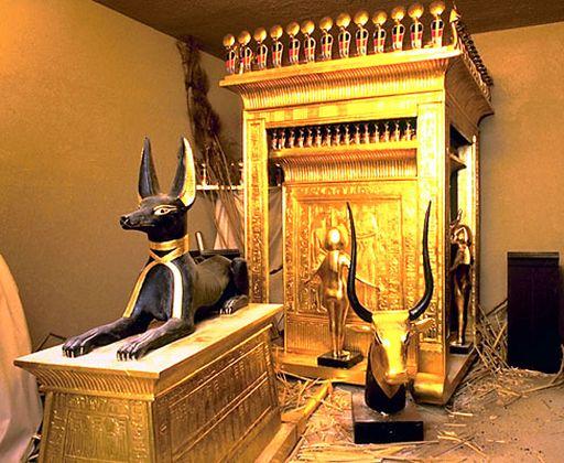 Сокровищница гробницы Тутанхамона