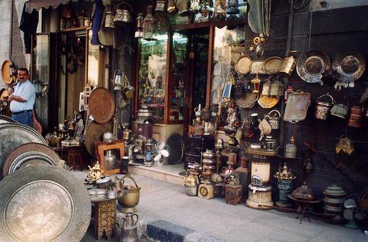 Дамаск, рынок