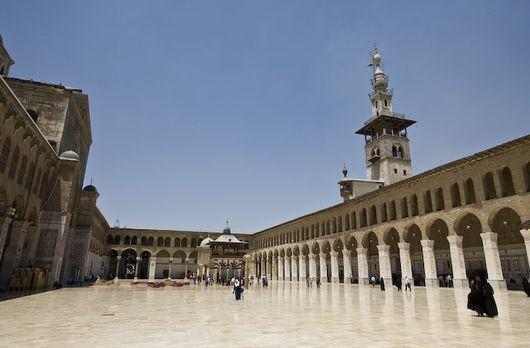 Дамаск, мечеть Омейядов