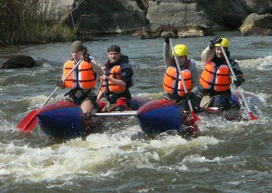 Спуск по реке Салгир