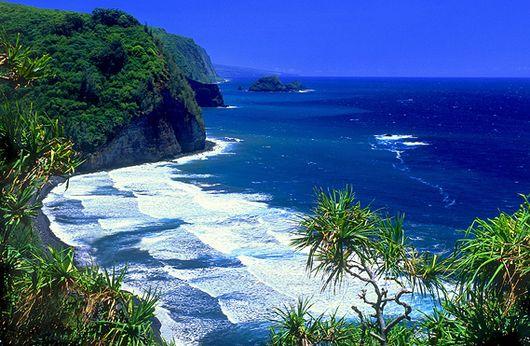 Гавайи - романтическое место