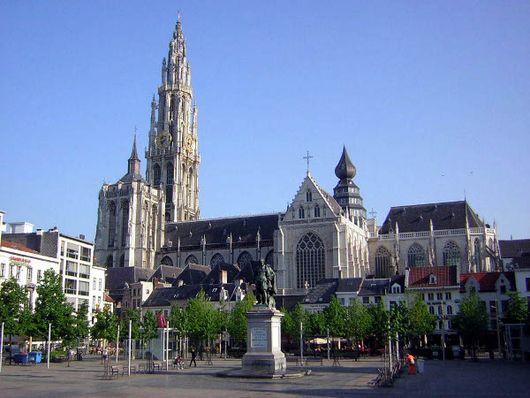 Собор Девы Марии, Антверпен, Бельгия