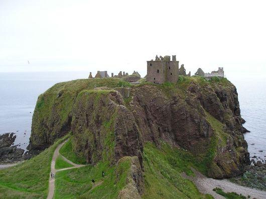 Шотландия, замок Данноттар