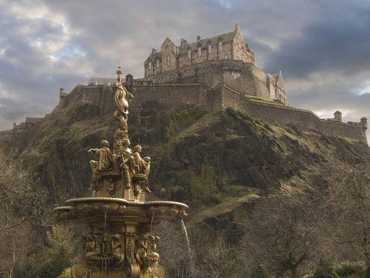 Тропа замков, Шотландия