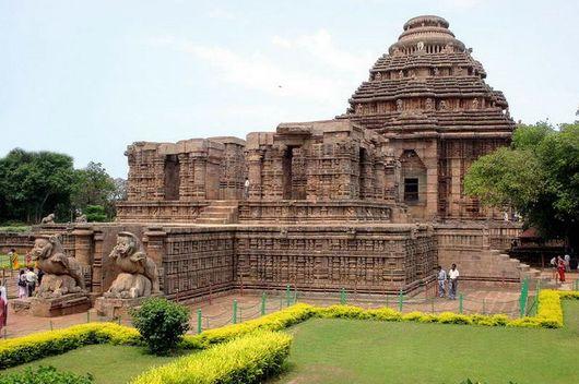 Храм Солнца в Конараке, Индия