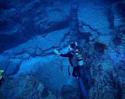 Подводные город Йонагуни