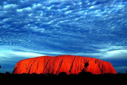 Скала Урулу, Австралия