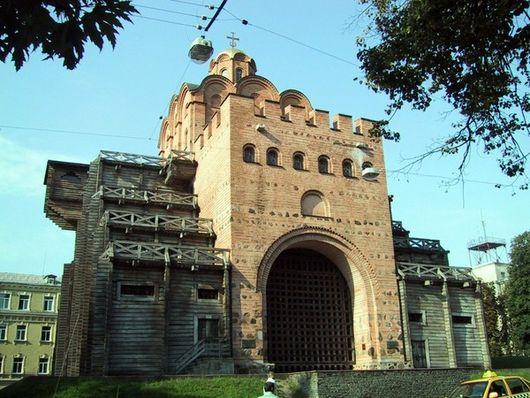 Золотые ворота, реставрация 1982 года