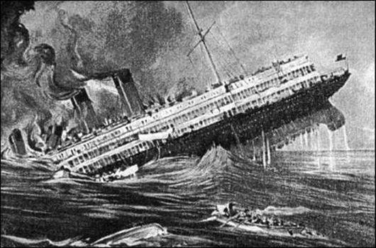 """В Цемесской бухте столкнулись теплоход """"Адмирал Нахимов"""" и..."""