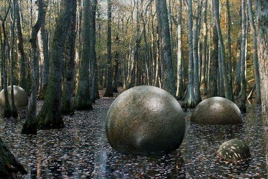 Каменные шары, Коста-Рика