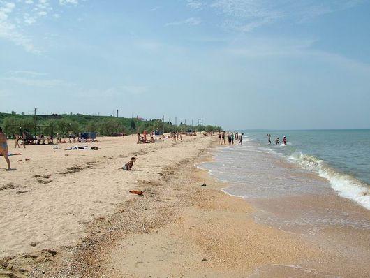 Азовское море и станица Голубицкая