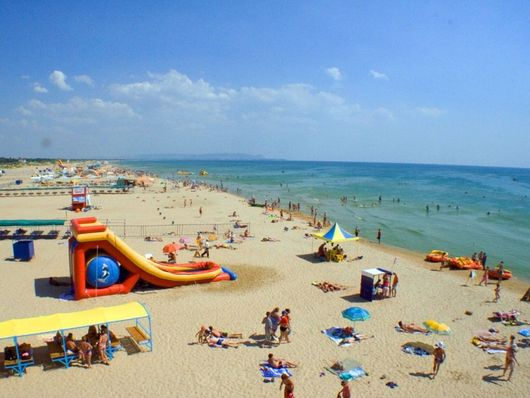 Анапа, пляж Витязево