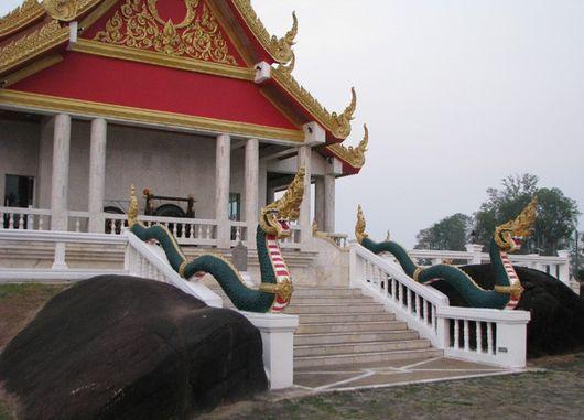Где-то посередине пути между Ватом Пху Ток и Нонг Кхаем