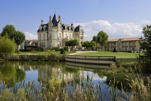 Сент-Эмильон. Отель Chateau Du Grand Barrail