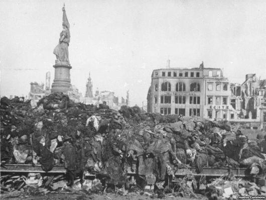 Дрезден, Германия_1945