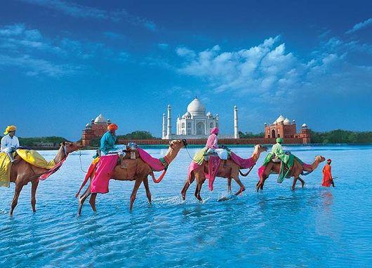 Где живут туристы в Индии