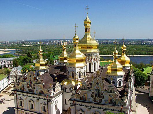 Киев, Украина, Киево-Печерская Лавра