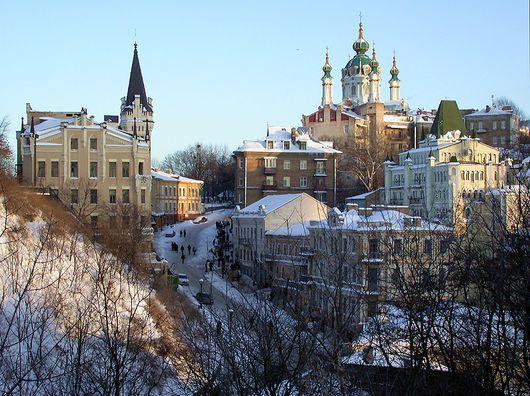 Киев, Украина, Андреевский спуск