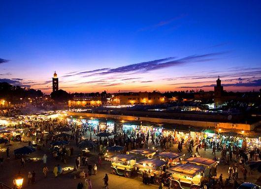 Марракеш, Марокко