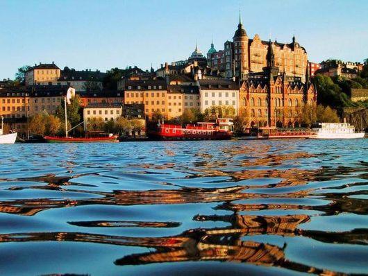В Швецию на пароме