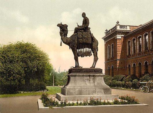 Мемориал Гордона в Нью Бромтоне, Англия