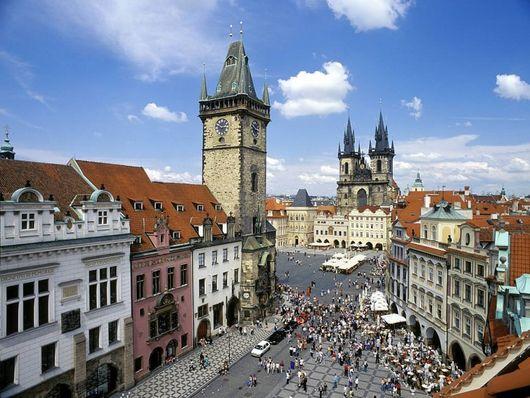 Путешествие по Европе, Прага, Чешская республика