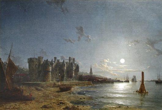 Замок Ньюарк. Порт Глазго.