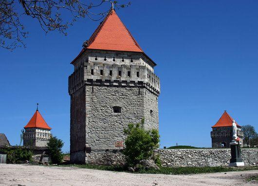 Скалатский замок, Украина