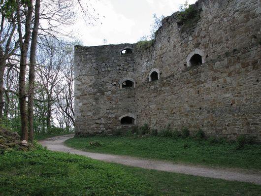 Теребовлянский замок, Украина