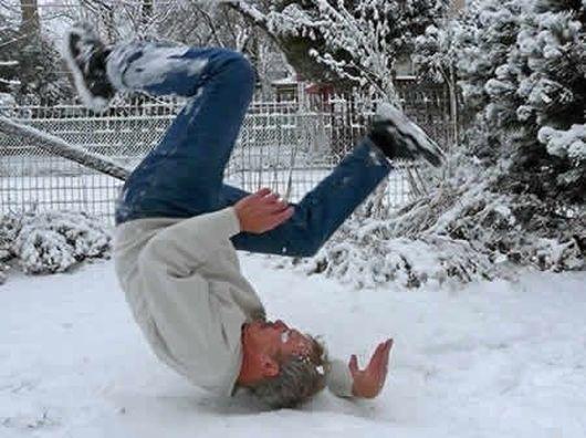Снег, сосульки, гололед...