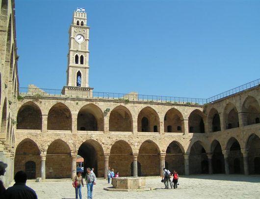 Старый город в Акко