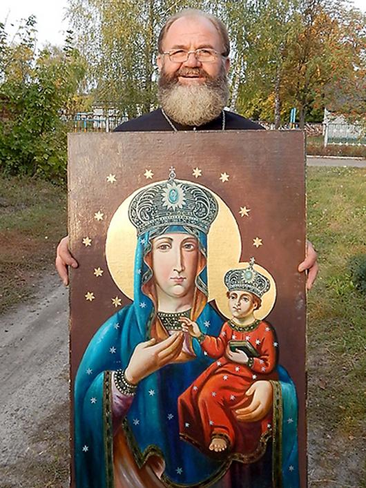 Чудотворная икона Дубовицкой Богородицы