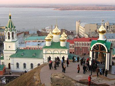 Самые красивые места Нижнего Новгорода