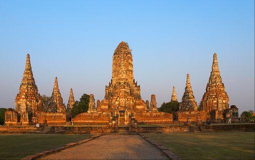 К древней столице Сиама