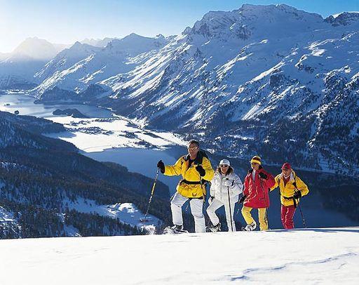 Курорты Швейцарии. Санкт-Мориц