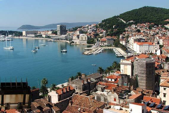 Солнечный Сплит – один из лучших курортов Хорватии