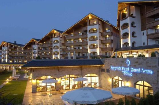 Отель Kempinski Hotel Grand Arena